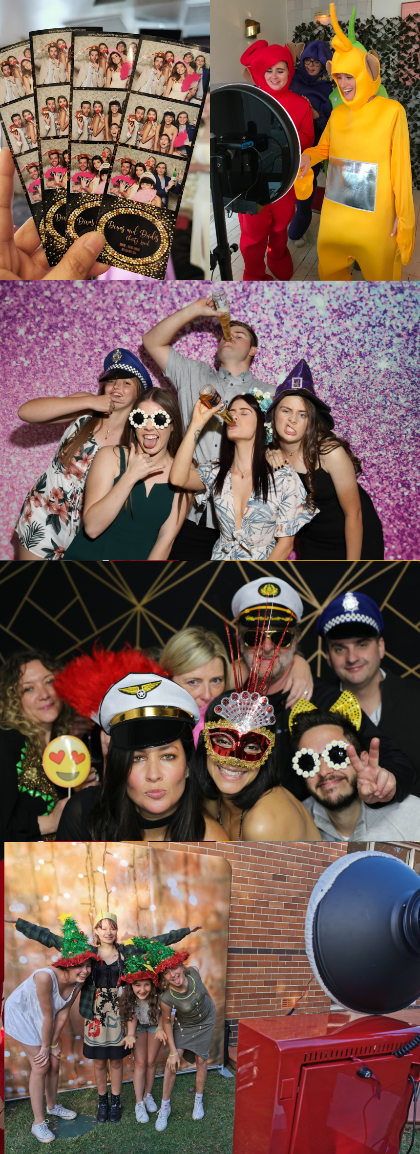 Mirror Photo Booth Rentals in Sydney